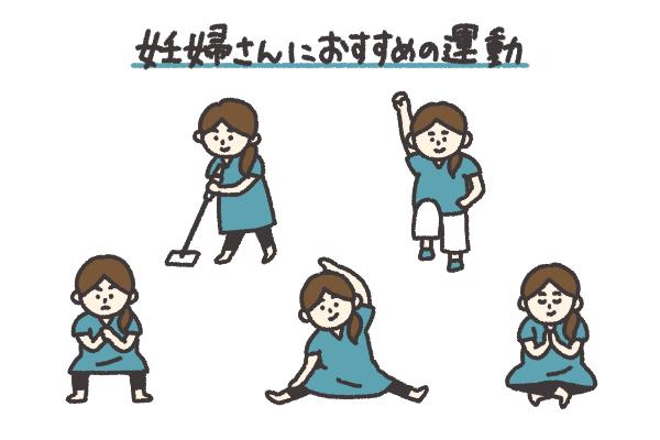 妊婦 ダイエット 運動